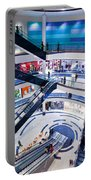 Modern Shopping Mall Interior Portable Battery Charger