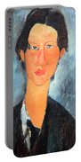 Modigliani's Chaim Soutine Up Close Portable Battery Charger