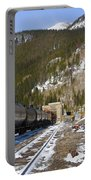 Moffat Tunnel East Portal At The Continental Divide In Colorado Portable Battery Charger
