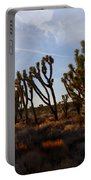 Mojave Desert Joshua Tree With Ravens Portable Battery Charger