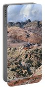 Mojave Desert View - Valley Of Fire Portable Battery Charger