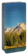 Molas Lake And The Needles Pan 1 Portable Battery Charger