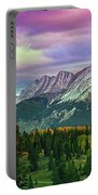 Molas Pass Sunset Panorama Portable Battery Charger