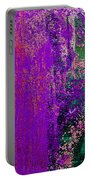 Molten Earth Purple Portable Battery Charger