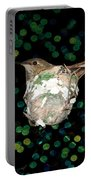 Mommy Hummingbird In The Nest Portable Battery Charger