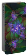 Mom's African Violets Portable Battery Charger