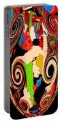 Mom's Venetian Glass Vase 17 Portable Battery Charger