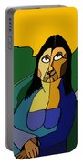 Mona Lisa Updated Portable Battery Charger