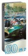 Monaco F1 Grand Prix 1968 Portable Battery Charger