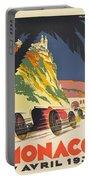 Monaco Grand Prix 1932 Portable Battery Charger