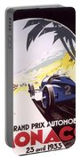 Monaco Grand Prix 1933 Portable Battery Charger