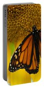 Monarch And Sunflower Portable Battery Charger