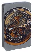 Monarch Butterfly Abstract Portable Battery Charger