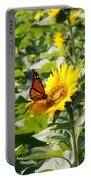Monarch Butterfly And Guest Portable Battery Charger