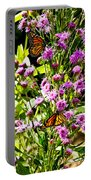Monarch Butterfly Couple Portable Battery Charger