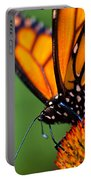 Monarch Butterfly Headshot Portable Battery Charger