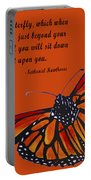 Monarch Butterfly Pismo Beach Portable Battery Charger