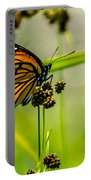 Monarch On Her Throne Portable Battery Charger