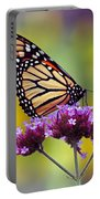 Monarch With Sunflower Portable Battery Charger
