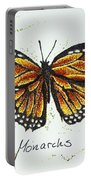 Monarchs - Butterfly Portable Battery Charger