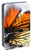 Monarchs In Love Portable Battery Charger
