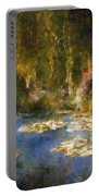 Monet After Midnight Portable Battery Charger