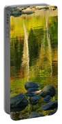 Monet Autumnal 02 Portable Battery Charger by Aimelle