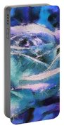 Monet Frosted Rose Portable Battery Charger
