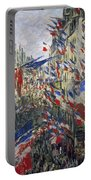 Monet: Montorgeuil, 1878 Portable Battery Charger