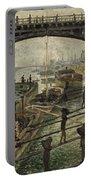 Monet The Coalmen 1875 Portable Battery Charger