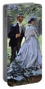 Monet's Bazille And Camille Portable Battery Charger
