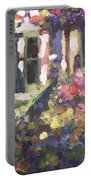 Monet's Home In Giverny Portable Battery Charger