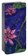 Monet's Lily Pond I Portable Battery Charger