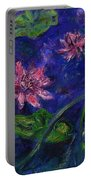 Monet's Lily Pond II Portable Battery Charger