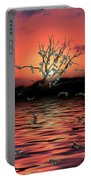 Money Tree Sunset Portable Battery Charger