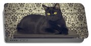 Mongo The Robust Cat Portable Battery Charger
