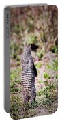 Mongoose Standing. Safari In Serengeti Portable Battery Charger