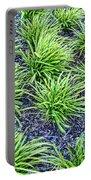 Monkey Grass Abstract Portable Battery Charger