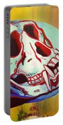 Monkey Skull Portable Battery Charger