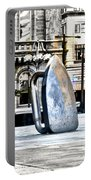 Monopoly Iron Statue In Philadelphia Portable Battery Charger