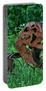 Monster In The Grass Portable Battery Charger