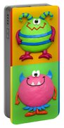 Monsters Portable Battery Charger by Amy Vangsgard