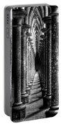 Mont St Michel Pillars Portable Battery Charger