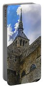 Mont St Michel Tower Portable Battery Charger
