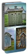 Montage Of Outhouses Portable Battery Charger