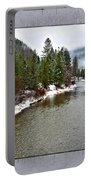 Montana Winter Frame Portable Battery Charger