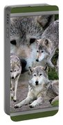 Montana Wolf Pack Portable Battery Charger