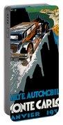 Monte Carlo Rallye Automobile Portable Battery Charger