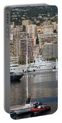 Monte Carlo Sailing - Monaco French Riviera Portable Battery Charger