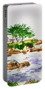 Monterey- California Sketchbook Project Portable Battery Charger